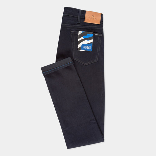 PS Paul Smith - Slim Fit Reflex Jeans in Blue/Black
