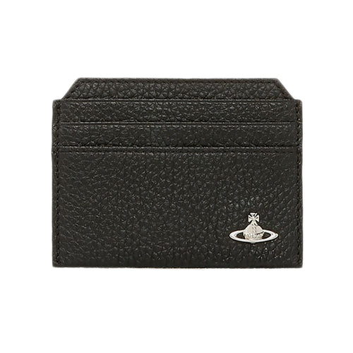 Vivienne Westwood - Milano Card Holder in Black - Nigel Clare