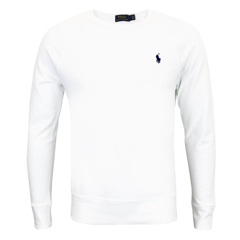 Polo Ralph Lauren - Cotton Spa Terry Sweatshirt in White - Nigel Clare