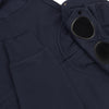 CP Company - Diagonal Fleece Goggle Hooded Sweatshirt in Navy - Nigel Clare