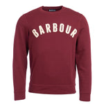 Barbour - Prep Logo Crew Neck in Ruby - Nigel Clare