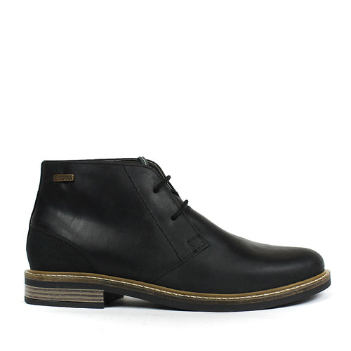 Barbour - Readhead Leather Chukka Boots in Black - Nigel Clare