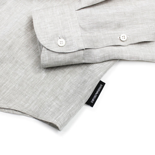 Emporio Armani - Linen Shirt in Natural