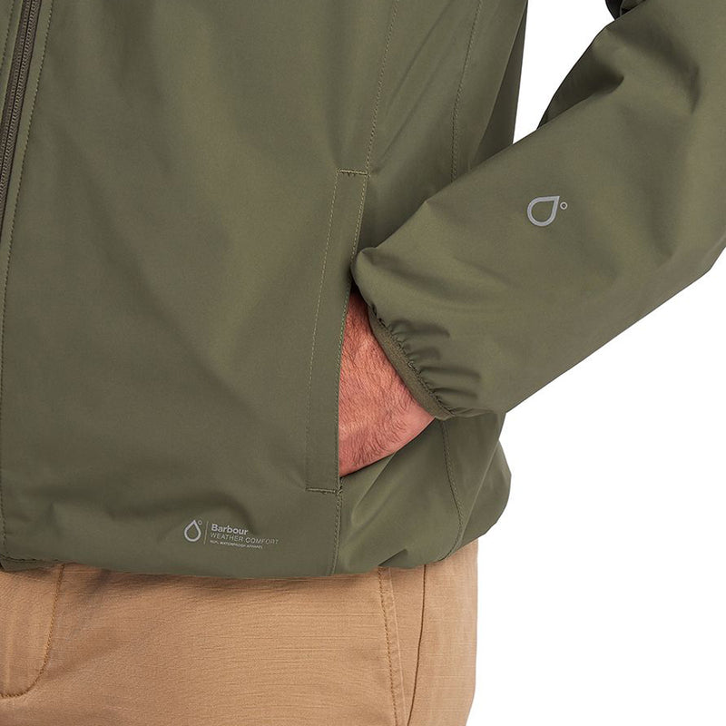 Barbour - Bransby Waterproof Jacket in Dusty Olive