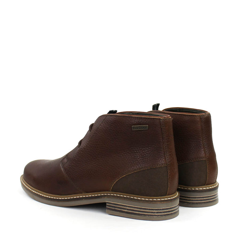 Barbour - Readhead Chukka Leather Boots in Dark Brown - Nigel Clare