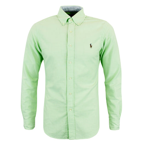 Polo Ralph Lauren - Slim Fit Shirt in Green - Nigel Clare