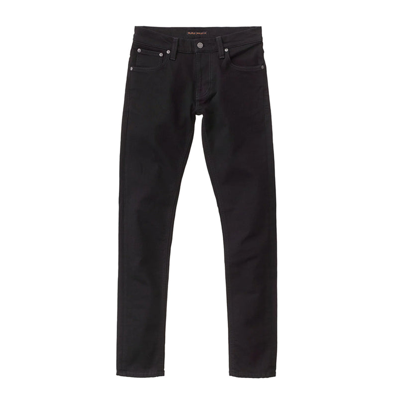 Nudie Jeans - Tight Terry Jeans in Everblack - Nigel Clare