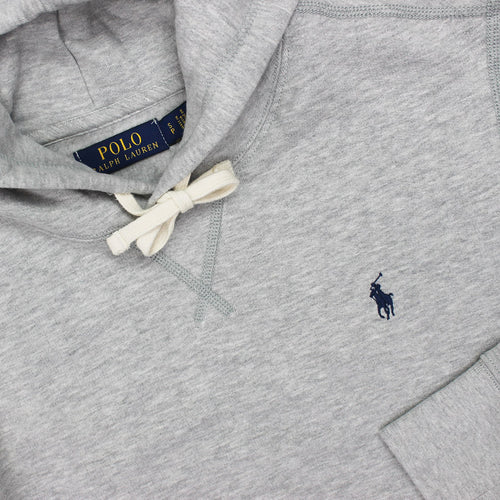 Polo Ralph Lauren - Cotton Blend Fleece Hoodie in Grey Heather - Nigel Clare