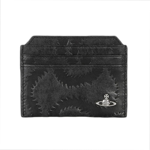 Vivienne Westwood - Belfast Card Holder in Black - Nigel Clare