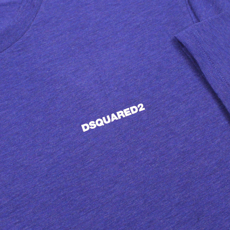 DSQUARED2 - Chest Logo T-Shirt in Purple - Nigel Clare