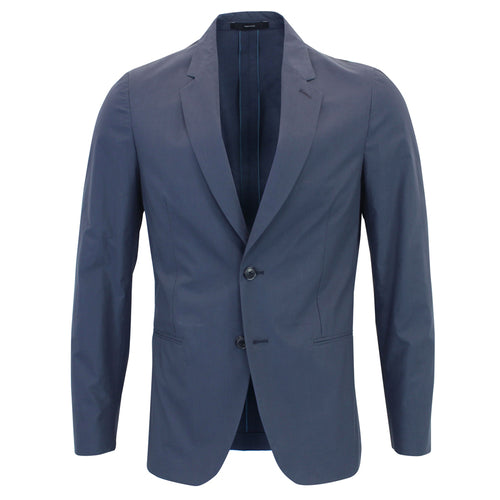 Paul Smith - Soho Fit Two Button Cotton Blazer in Navy - Nigel Clare