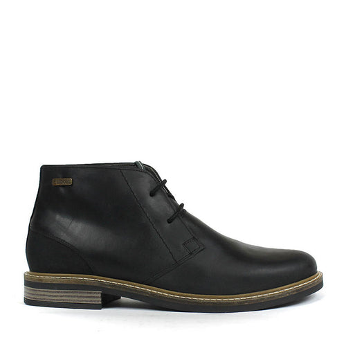 Barbour - Readhead Chukka Leather Boots in Black - Nigel Clare