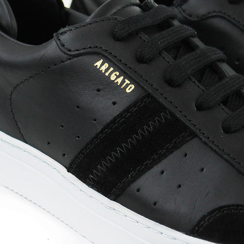 Axel Arigato - Dunk Leather Trainers in Black/White - Nigel Clare