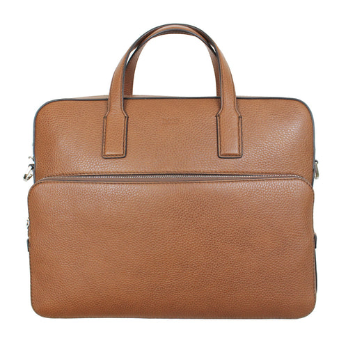 Hugo Boss - Crosstown_S Document Bag in Tan - Nigel Clare