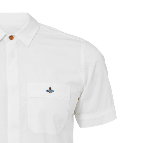 Vivienne Westwood - Classic White Short Sleeve Shirt - Nigel Clare