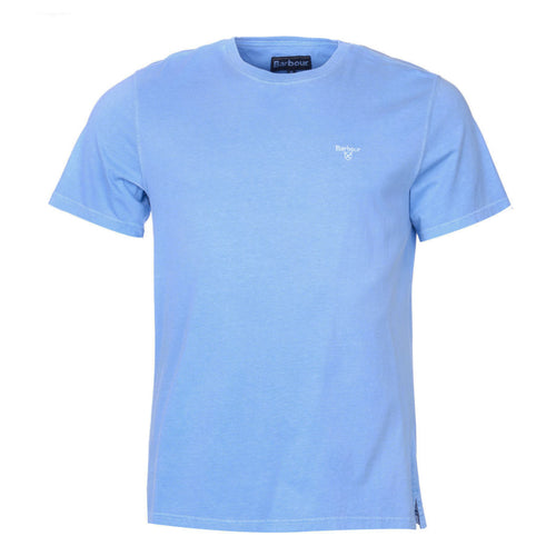 Barbour - Garment Dyed T-Shirt in Sky Blue - Nigel Clare