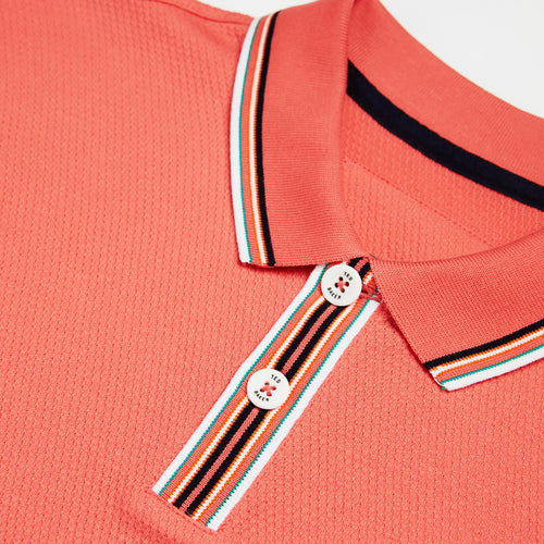 Ted Baker - TWITWOO Polo Shirt in Coral