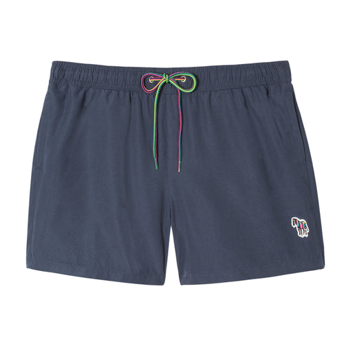 Paul Smith - Zebra Logo Swim Shorts in Navy - Nigel Clare
