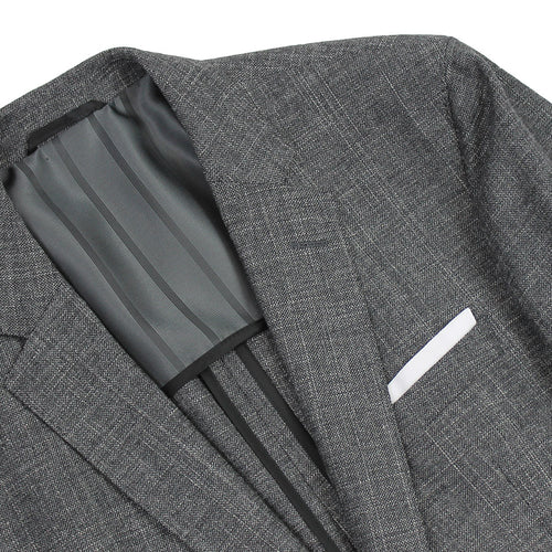 Hugo Boss - Hartlay Woven Blazer in Grey - Nigel Clare