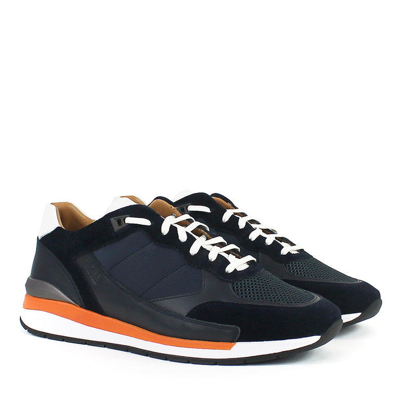 Hugo Boss - Element_Runn_ltmx Hybrid Trainers in Dark Blue - Nigel Clare