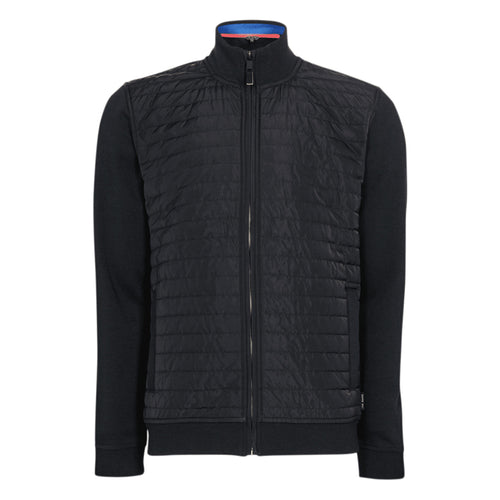 Ted Baker - RIDEZ Quilted Funnel Neck Jumper in Navy - Nigel Clare
