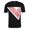 Love Moschino - Triangle Logo T-Shirt in Black - Nigel Clare