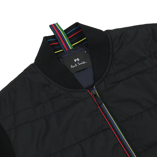 PS Paul Smith - Padded Bomber Jacket in Black