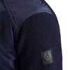 Belstaff - Abbott Zip Through Padded Jacket in Faded Navy - Nigel Clare