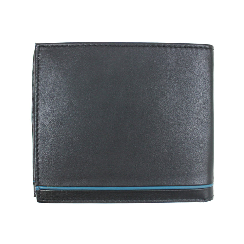 Ted Baker - Dooree Leather Bifold Wallet in Black - Nigel Clare