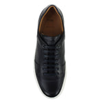 Hugo Boss - Mirage_Tenn_gr1 Grained Trainers in Dark Blue - Nigel Clare