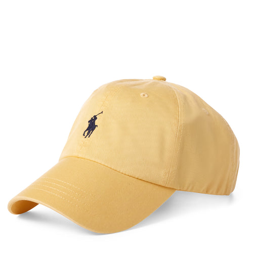Polo Ralph Lauren - Cotton Chino Baseball Cap in Fall Yellow - Nigel Clare