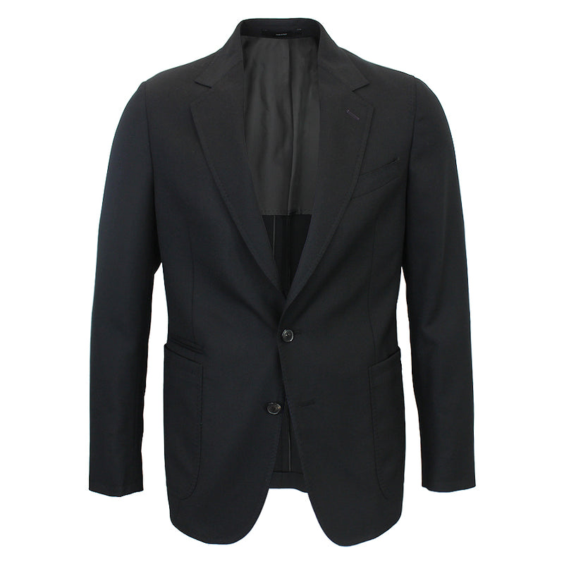 Paul Smith - Soho Fit Textured Wool Blazer in Black - Nigel Clare