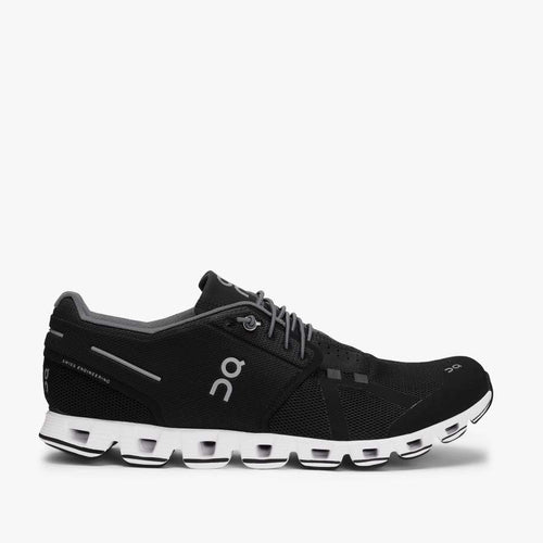On Running - Cloud Trainers in Black/White