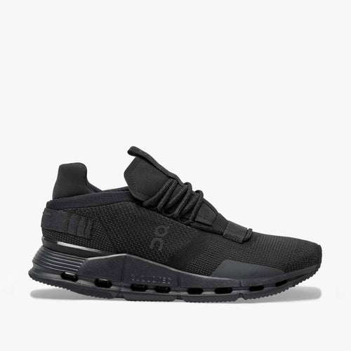 On Running - Cloudnova Trainers in Black/Eclipse