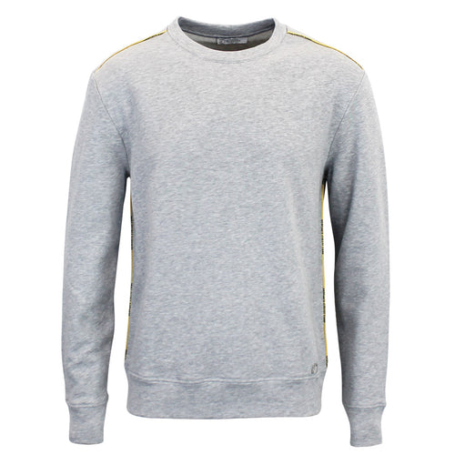 Versace Collection - Crew Neck Sweatshirt in Grey Marl - Nigel Clare