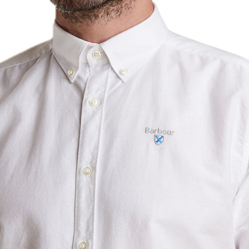 Barbour - Oxford SS Shirt in White