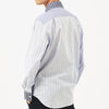 Vivienne Westwood - Pianist Light Blue Stripe Shirt - Nigel Clare