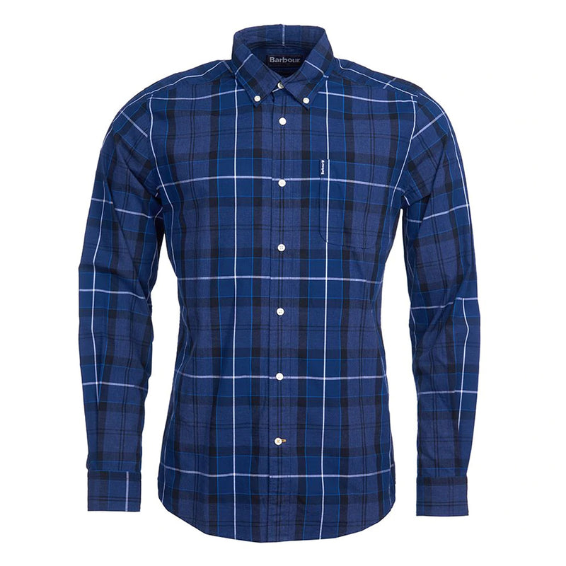 Barbour - Sandwood Check Shirt in Inky Blue - Nigel Clare