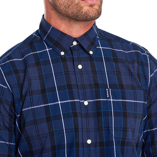 Barbour - Sandwood Check Shirt in Inky Blue