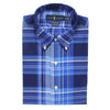 Polo Ralph Lauren - Custom Fit Multi Check Shirt in Blue - Nigel Clare