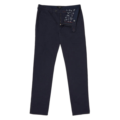 Ted Baker - SINCERE Slim Fit Chino in Navy - Nigel Clare