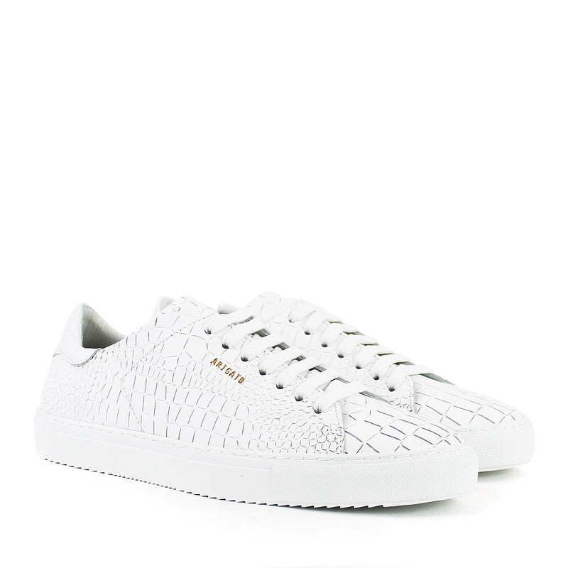 Axel Arigato - Clean 90 Croc Trainers in White