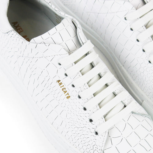 Axel Arigato - Clean 90 Croc Trainers in White - Nigel Clare