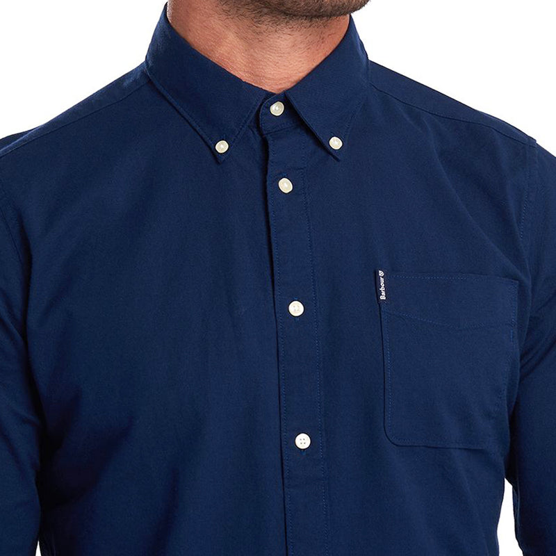 Barbour - Flemington Shirt in Inky Blue - Nigel Clare