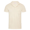 Orlebar Brown - Terry Towelling Polo Shirt in Shell - Nigel Clare