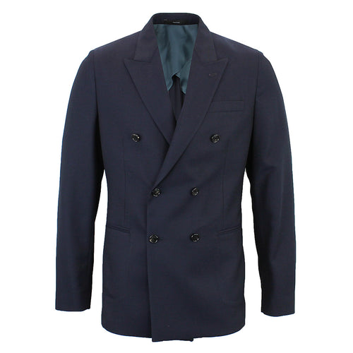 Paul Smith - Kensington Slim Fit Double Breasted Blazer in Navy - Nigel Clare