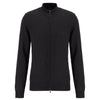 Hugo Boss - Balonso-L Full Zip Cardigan in Black - Nigel Clare