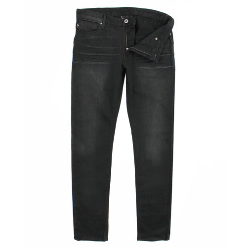 Emporio Armani - J06 1D0IZ Slim Fit Washed Black Jeans - Nigel Clare