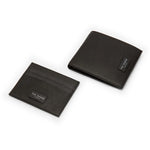 Ted Baker - Leather Wallet And Cardholder Gift Set in Black - Nigel Clare