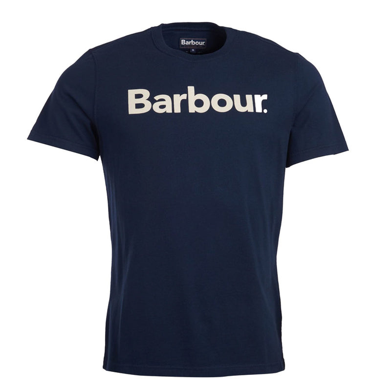 Barbour - Logo T-Shirt in New Navy - Nigel Clare